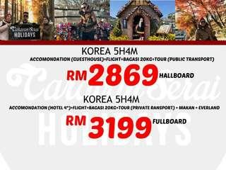 Korea fullboard and halfboard