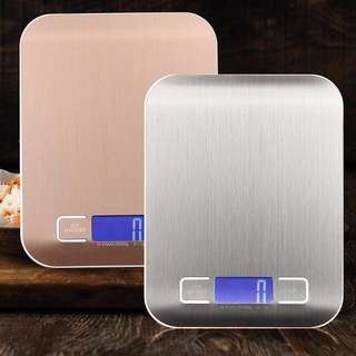 [OOS] Electronic Digital Kitchen Scale 5kg (Rose Gold)