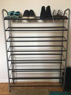 Shoe rack for 40 pairs of shoes