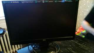 hp LCD monitor 20 inches