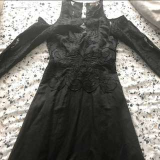 THURLEY BROIDERIE DRESS | SIZE 10