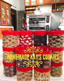 100% Homemade Cookies