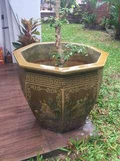 Fengshui 8 immortal flower pot
