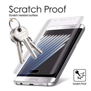 Case Friendly Full Coverage PET FIlm 4 Samsung Curved Phones