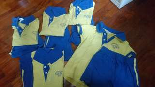 5x Learning Kidz uniforms (shorts and top)