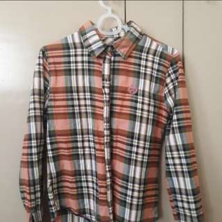 REPRICED CHECKERED PLAID TOP