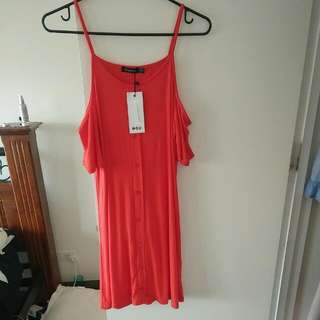 Red Sundress - Boohoo