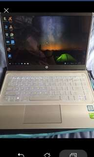 HP Pavilion corei5 7th gen (you can see the specs on the receipt attached)