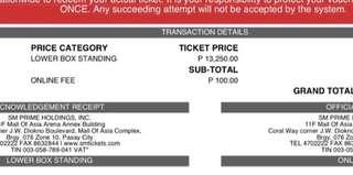 ElyXiOn in Manila -EXO Ticket