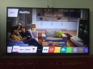 Smart tv 55inci brand LG model 55LF630T