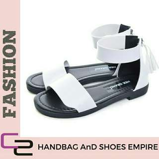 Free Pos Summer tassel Women's Sandal Slip on flats Beach sandal platform shoes