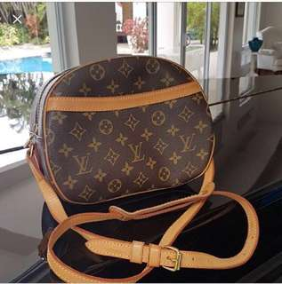 Authentic LV blois crossbody bag