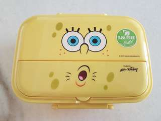 BNIP BPA Spongebox Lunch Box