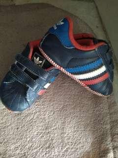 Adidas shoe pre-walk