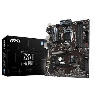 MSI Z370-A PRO ATX Motherboard