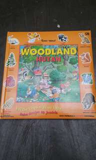 Woodland with lift and flap