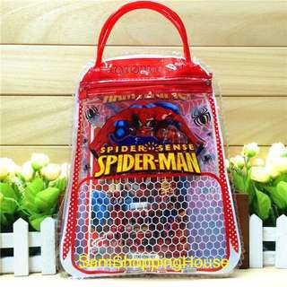 Stationery set / spiderman / birthday party