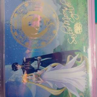 美少女戰士 幻之水晶卡 PR卡 獨家燙金卡 限定卡 稀有稀少 正版