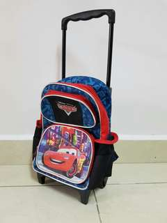 Trolley school bag for kiddie(Small size )