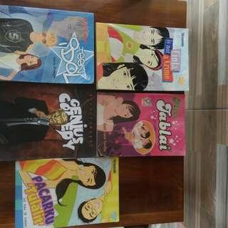 Ambil semua Paket 5 Novel teenlit remaja meg cabot gramedia