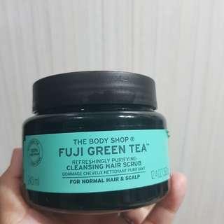 Cleansing hair scrub Fuji green Tea