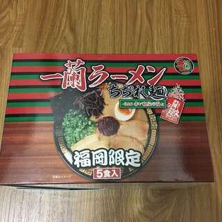 日本福岡限定 一蘭泡麵 5入/盒