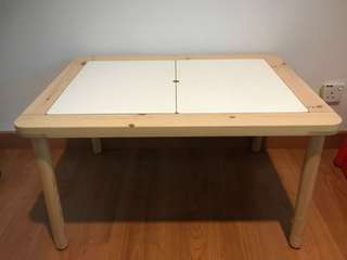 Preloved FLISAT Children's table, 83x58 cm