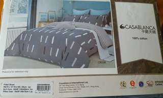 Casablanca fitted sheet 床單 被袋 單人