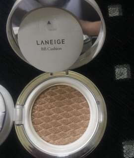 Laneige BB Cushion Whitening No. 21 NATURAL BEIGE (PRELOVED MAKEUPMURAH)