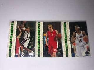 Upper Deck Prospects Kobe Melo Darko Rookie cards