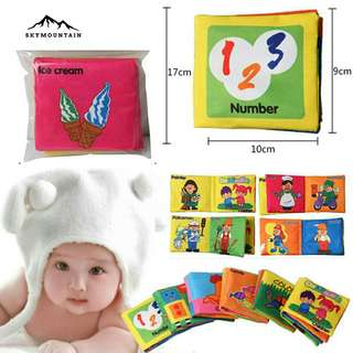 ON SALE! Educational Cloth Book