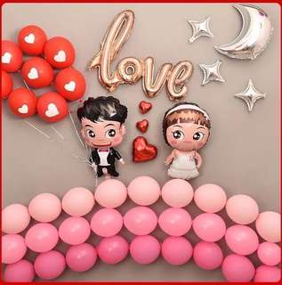 Q版 Love 示愛汽球套餐 (Love balloon package)