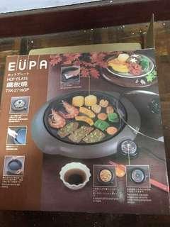 EUPA鐵板燒烤盤TSK-2718GP。鐵板燒 二手。但沒用過。