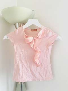 Pink Blouse for Girls