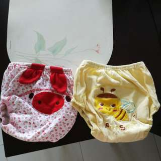 Toddler toilet training pants x2 - for 100cm, 16kg