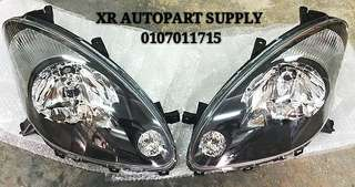 MYVI SE 05 - 08 SMOKE HEADLAMP (L+R)