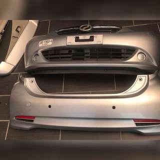 Bumper depan & belakang Myvi model XT (2014)