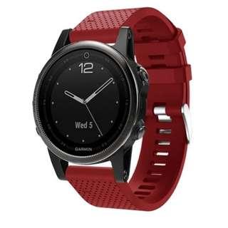 Watchband for Garmin fenix S5 - Red