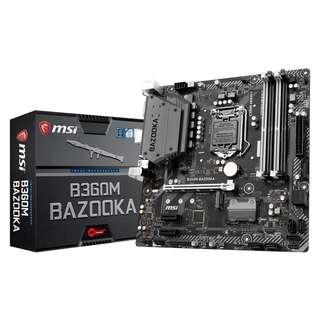 MSI B360M BAZOOKA mATX Motherboard