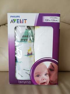 BN Philips Avent Swaddles