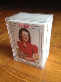 Full Set of 1994 Coca Cola Series 2 Base Cards (100 Cards in plastic box)