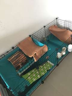 C&c grid and connectors for Guinea Pig cage