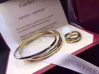 Cartier Bangles with Ring Set