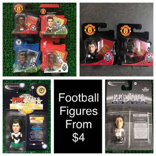 Football Figures from $4