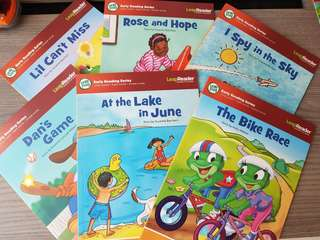 Leap Frog Early Reading Series (long and sight words)