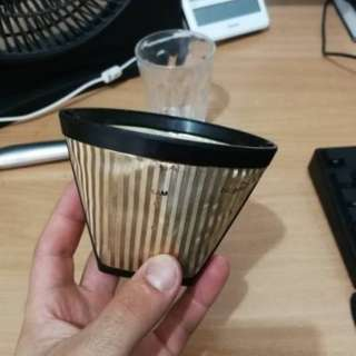 SwissGold 6-12 cup reusable cone shape coffee filter