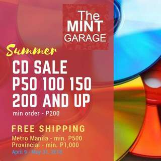 P50 CD SALE (Free Shipping)