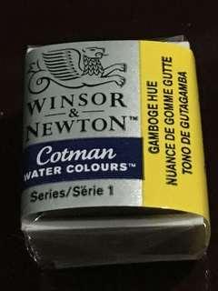 Winsor & Newton Cotman Watercolour Half Pan (Gamboge Hue)