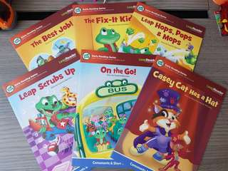 Leap Frog Early Reading Series (short vowels and sight words)