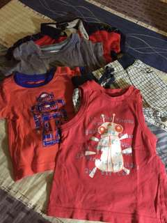 Assorted Branded Baby Clothes